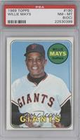 Willie Mays [PSA 8 (OC)]