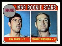 Indians Rookies (Ray Fosse, George Woodson) [NM]