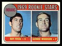 Indians Rookies (Ray Fosse, George Woodson) [NMMT]