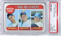 Ken Harrelson, Frank Howard, Jim Northrup [PSA 8 (OC)]