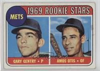 Mets Rookie Stars (Gary Gentry, Amos Otis) [Good to VG‑EX]