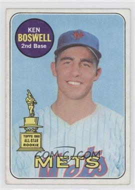 1969 Topps - [Base] #402 - Ken Boswell