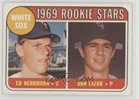 White Sox Rookie Stars (Ed Herrmann, Dan Lazar) [PoortoFair]