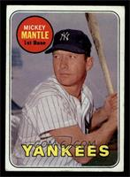 Mickey Mantle (Last Name in Yellow) [GOOD]