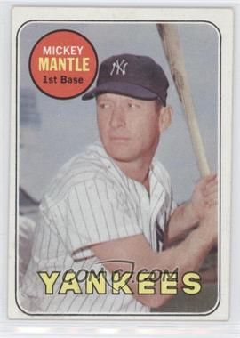 1969 Topps - [Base] #500.1 - Mickey Mantle (Last Name in Yellow)