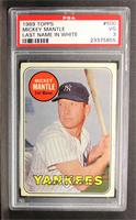 Mickey Mantle (Last Name in White) [PSA 3]