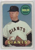 Bobby Bolin (last name in yellow) [GoodtoVG‑EX]