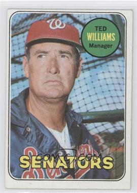 1969 Topps - [Base] #650 - Ted Williams