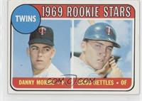 Twins Rookie Stars (Danny Morris, Graig Nettles) (Correct: No Loop Above Twins)