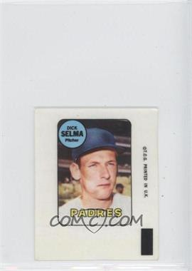 1969 Topps - Decals #DISE - Dick Selma