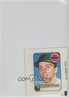 1969 Topps - Decals #RIMO - Rick Monday