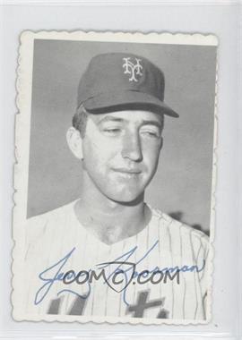 1969 Topps - Deckle Edge #25 - Jerry Koosman