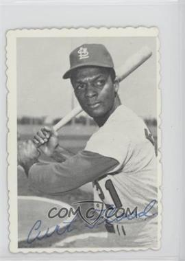 1969 Topps - Deckle Edge #28 - Curt Flood