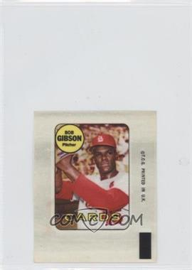 1969 Topps Decals #BOGI - Bob Gibson [Good to VG‑EX]