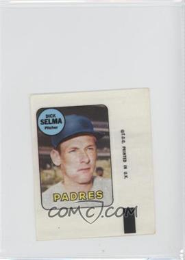 1969 Topps Decals #DISE - Dick Selma