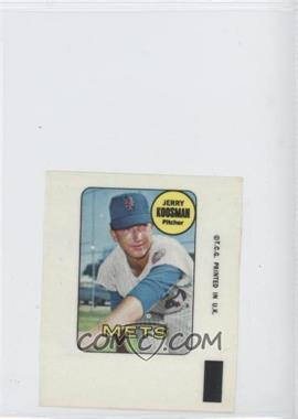 1969 Topps Decals #JEKO - Jerry Koosman