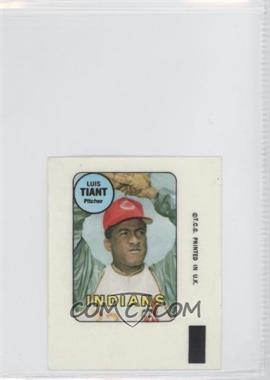 1969 Topps Decals #LUTI - Luis Tiant