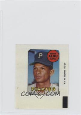 1969 Topps Decals #MAAL - Matty Alou [Good to VG‑EX]