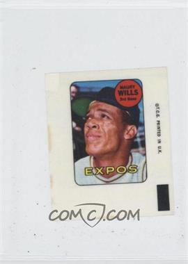 1969 Topps Decals #MAWI - Maury Wills