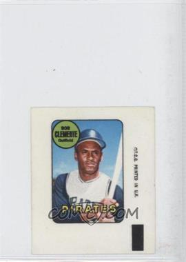 1969 Topps Decals #N/A - Roberto Clemente