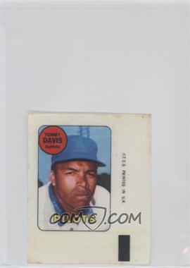 1969 Topps Decals #N/A - Tommy Davis