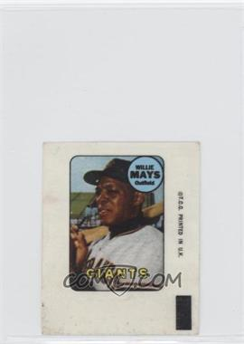 1969 Topps Decals #N/A - Willie Mays