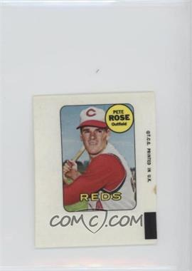 1969 Topps Decals #PERO - Pete Rose