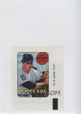1969 Topps Decals #PEWA - Pete Ward