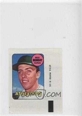 1969 Topps Decals #RIMO - Rick Monday