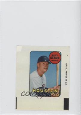 1969 Topps Decals #RUST - Rusty Staub [Good to VG‑EX]