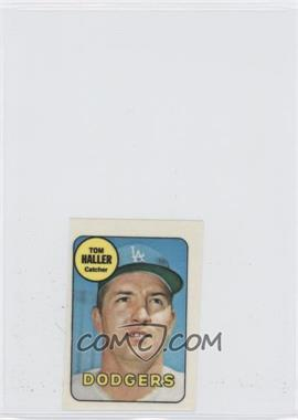 1969 Topps Decals #TOHA - Tom Haller