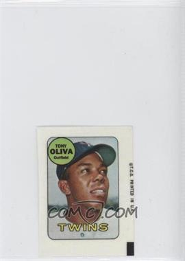 1969 Topps Decals #TOOL - Tony Oliva