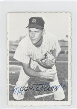1969 Topps Deckle Edge #13 - Mel Stottlemyre [Good to VG‑EX]