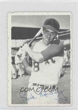 1969 Topps Deckle Edge #14 - Rick Monday [Good to VG‑EX]