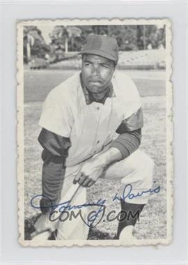1969 Topps Deckle Edge #15 - Tommy Davis [Good to VG‑EX]