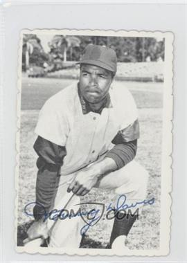 1969 Topps Deckle Edge #15 - Tommy Davis