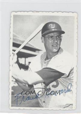 1969 Topps Deckle Edge #16 - Frank Howard