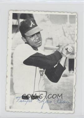 1969 Topps Deckle Edge #17 - Felipe Alou [Good to VG‑EX]