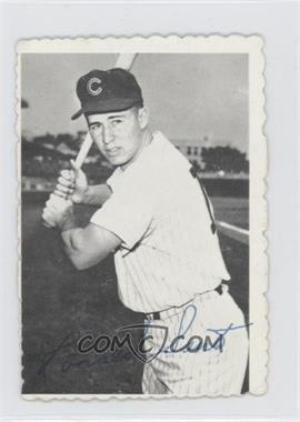 1969 Topps Deckle Edge #19 - Ron Santo [Good to VG‑EX]