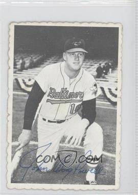 1969 Topps Deckle Edge #2 - Boog Powell