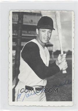 1969 Topps Deckle Edge #24 - Maury Wills