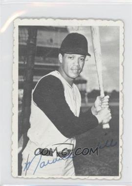 1969 Topps Deckle Edge #24 - Maury Wills [Good to VG‑EX]