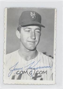 1969 Topps Deckle Edge #25 - Jerry Koosman