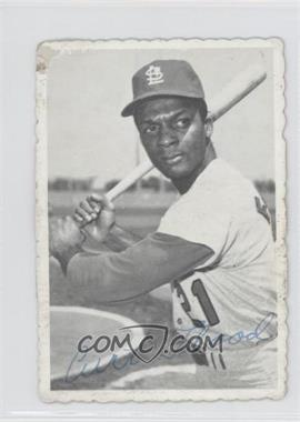 1969 Topps Deckle Edge #28 - Curt Flood [Good to VG‑EX]