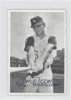 1969 Topps Deckle Edge #3 - Ken Harrelson