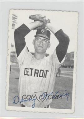 1969 Topps Deckle Edge #8 - Denny McLain