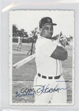 1969 Topps Deckle Edge #9 - Willie Horton [Good to VG‑EX]
