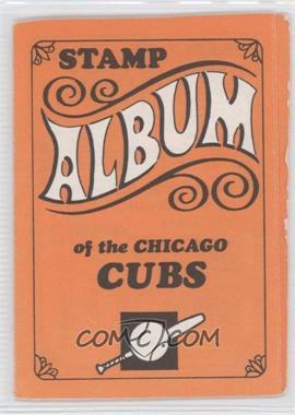 1969 Topps Stamps - Team Stamp Albums #3 - Chicago Cubs Team [GoodtoVG‑EX]