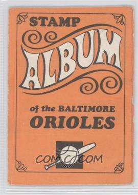 1969 Topps Stamps Team Stamp Albums #13 - Baltimore Orioles Team
