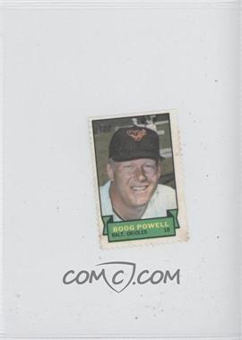 1969 Topps Stamps #N/A - Boog Powell
